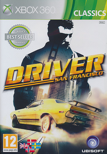 "Packshot for ""Driver San Francisco CLASS X360"""