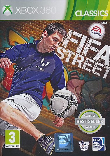 "Packshot for ""FIFA Street (2012) CLASS X360"""