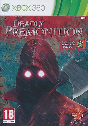 """Packshot for """"Deadly Premonition X360"""""""