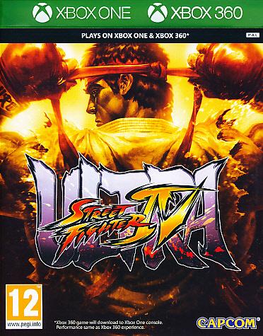 """Packshot for """"Ultra Street Fighter 4 X360"""""""