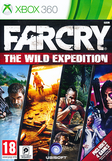 "Packshot for ""Far Cry Wild Expedition Ed. X360"""