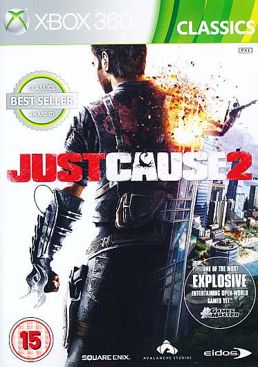 """Packshot for """"Just Cause 2 CLASS BBFC X360"""""""
