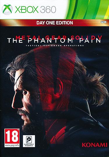 """Packshot for """"MGS V Phantom Pain Day 1 Ed. X360"""""""