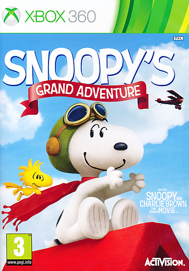 "Packshot for ""Snoopys Grand Adventure X360"""