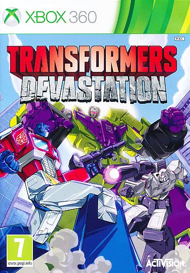 """Packshot for """"Transformers Devastation X360"""""""
