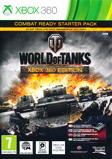 "Packshot for ""World of Tanks NORD X360"""