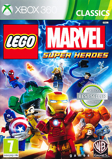 "Packshot for ""Lego Marvel Superheroes CLASS X360"""