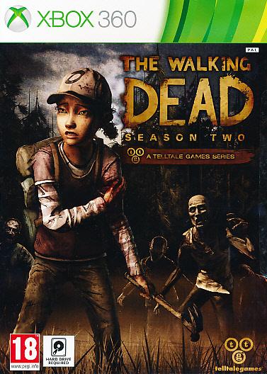 """Packshot for """"The Walking Dead Season 2 X360"""""""