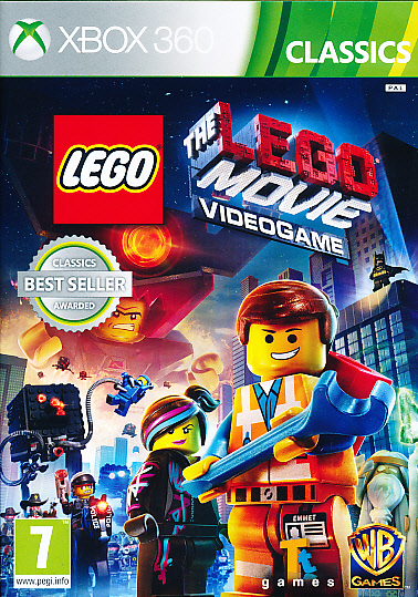 "Packshot for ""Lego Movie Videogame CLASS X360"""