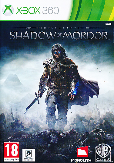 """Packshot for """"Middle Earth Shadow of Mordor X360"""""""
