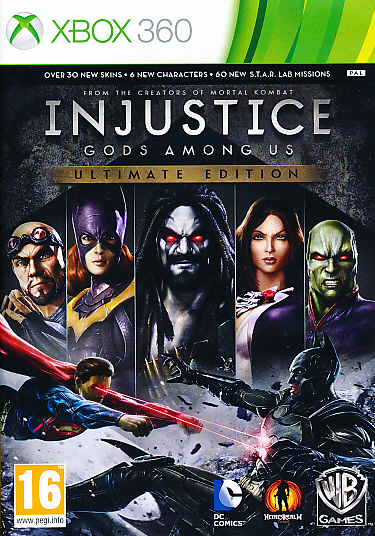 """Packshot for """"Injustice Gods Among Us Ult. EdX360"""""""