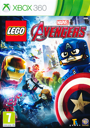 "Packshot for ""Lego Marvel Avengers X360"""