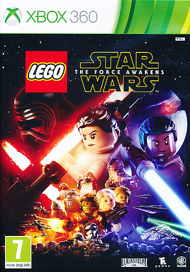 "Packshot for ""Lego Star Wars Force Awakens X360"""