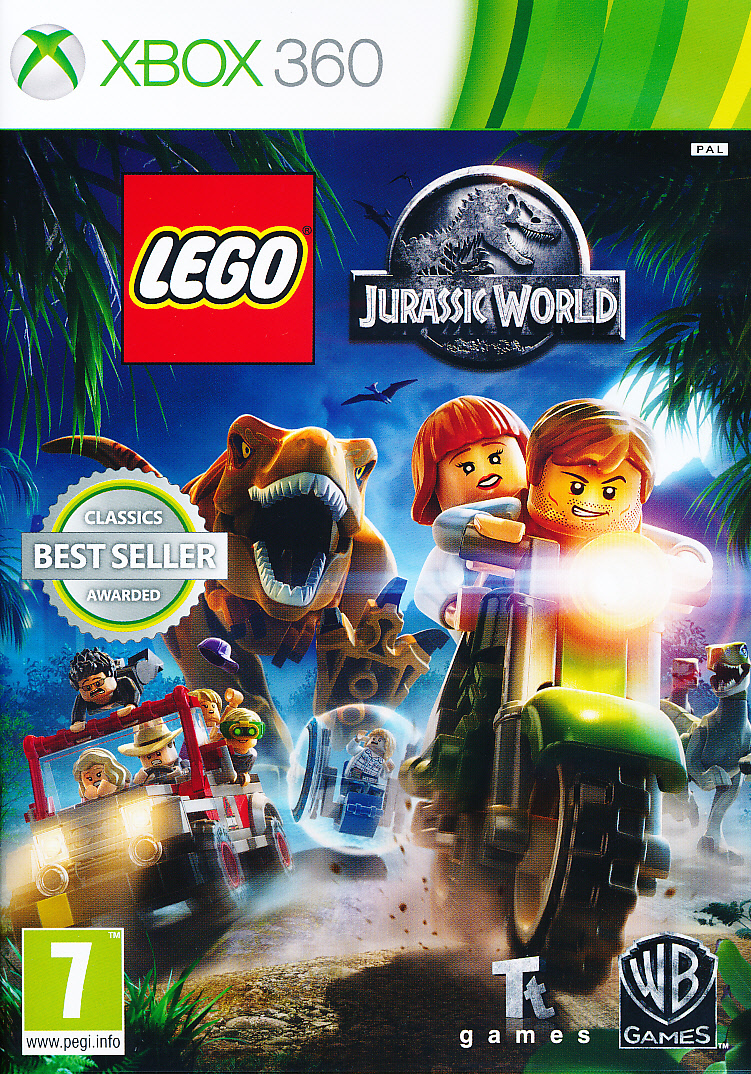 "Packshot for ""Lego Jurassic World X360"""