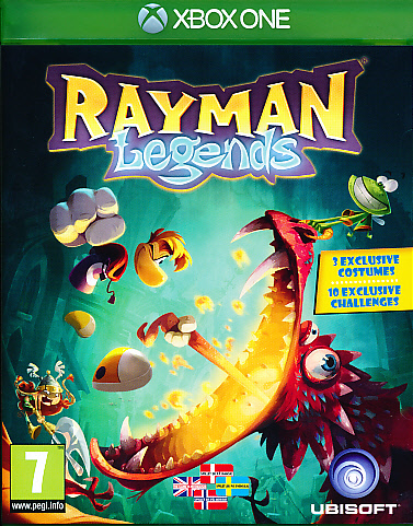 "Packshot for ""Rayman Legends XBO"""
