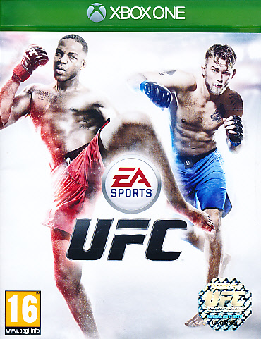 "Packshot for ""EA Sports UFC XBO"""