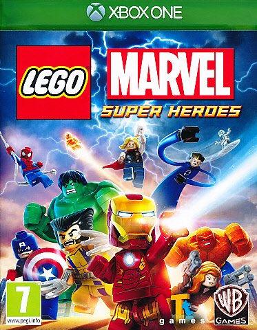 "Packshot for ""Lego Marvel Superheroes XBO"""