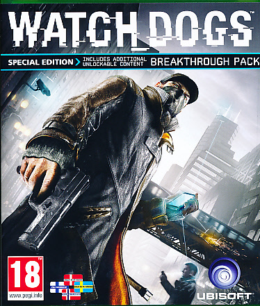 "Packshot for ""Watch Dogs Special Ed. NORD XBO"""