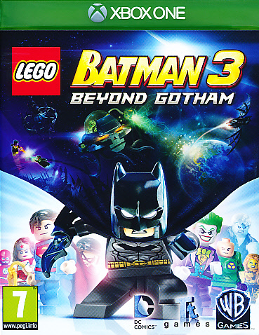"Packshot for ""Lego Batman 3 Beyond Gotham XBO"""