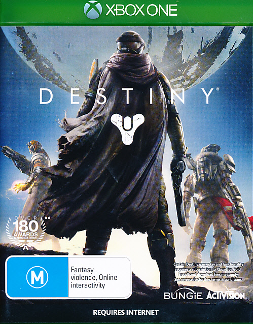 "Packshot for ""Destiny AUS XBO"""