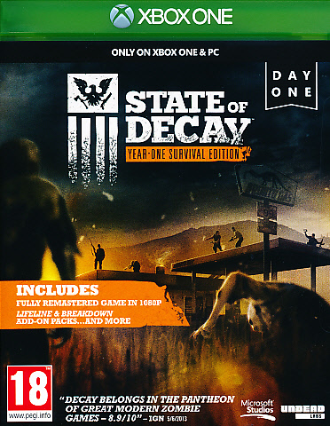 """Packshot for """"State of Decay NORD XBO"""""""