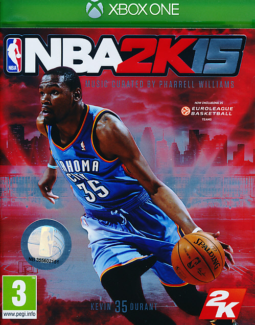 "Packshot for ""NBA 2K15 XBO"""