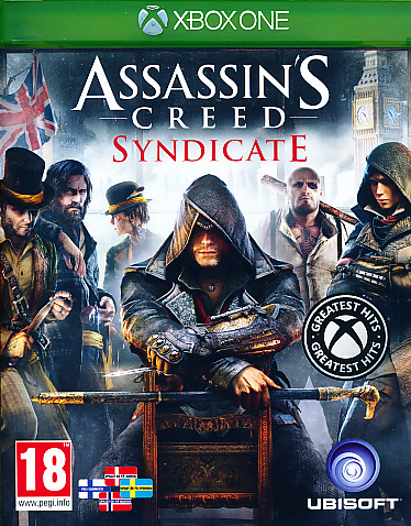 "Packshot for ""Assassins Creed Syndicate NORD XBO"""