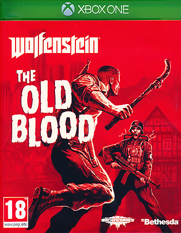 "Packshot for ""Wolfenstein Old Blood XBO"""