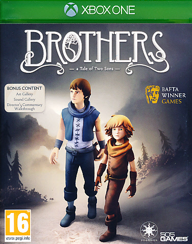 "Packshot for ""Brothers A Tale of Two Sons XBO"""