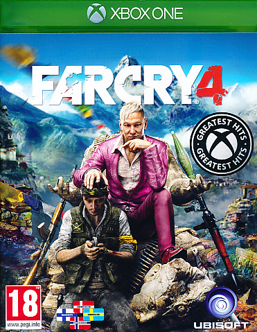 "Packshot for ""Far Cry 4 NORD XBO"""