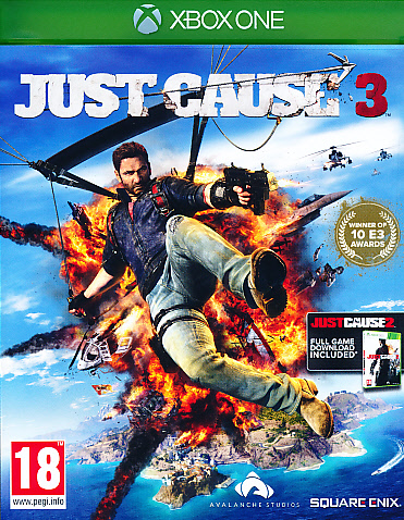 "Packshot for ""Just Cause 3 XBO"""