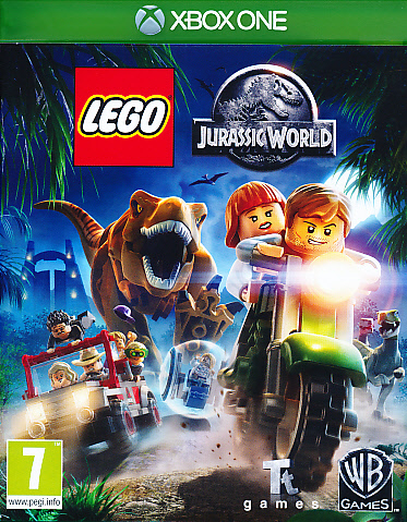 "Packshot for ""Lego Jurassic World XBO"""