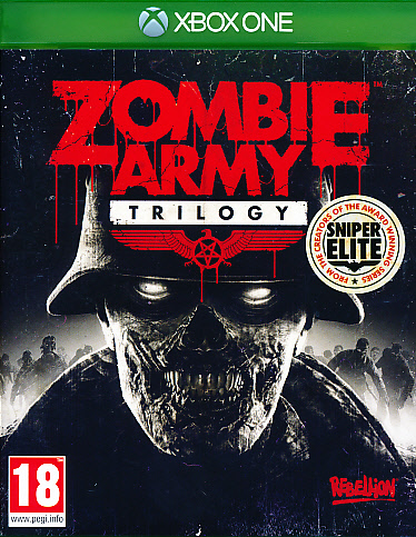 "Packshot for ""Sniper Elite Zombie Army TrilogyXBO"""