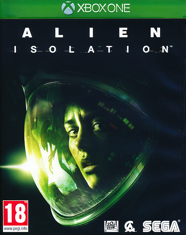 "Packshot for ""Alien Isolation XBO"""
