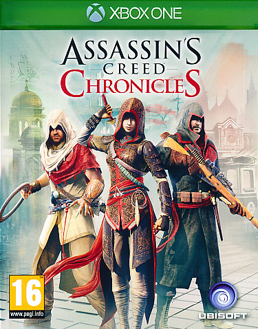 "Packshot for ""Assassins Creed Chronicles XBO"""