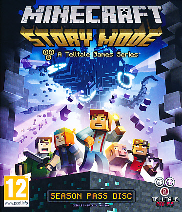 "Packshot for ""Minecraft Story Mode XBO"""