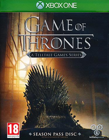 """Packshot for """"Game of Thrones Telltale Games XBO"""""""