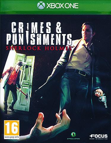 "Packshot for ""Sherlock Holmes Crimes & Punish XBO"""