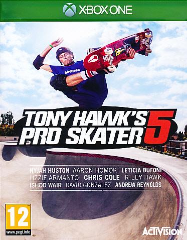 """Packshot for """"Tony Hawks Pro Skater 5 XBO"""""""
