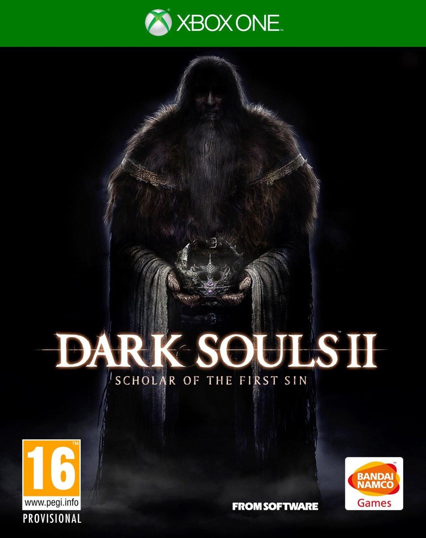 "Packshot for ""Dark Souls 2 Scholar of First XBO"""