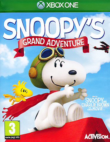 """Packshot for """"Snoopys Grand Adventure XBO"""""""