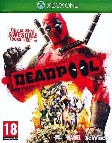 """Packshot for """"Deadpool XBO"""""""