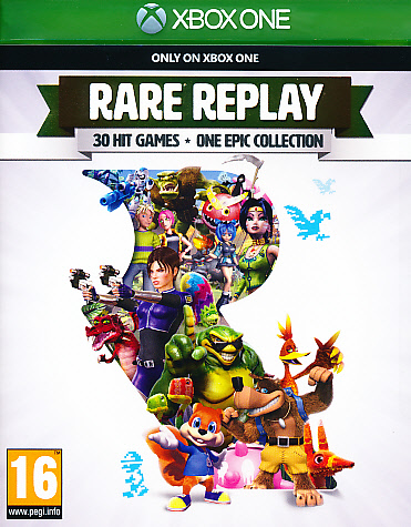 """Packshot for """"Rare Replay Collection NORD XBO"""""""