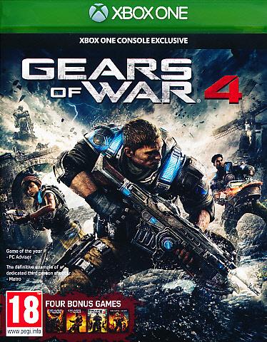 "Packshot for ""Gears of War 4 XBO"""