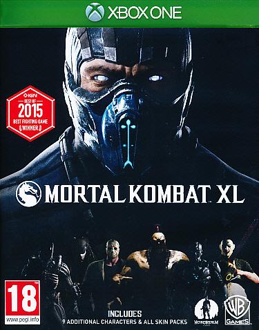 "Packshot for ""Mortal Kombat XL XBO"""