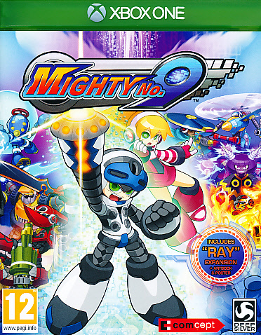 """Packshot for """"Mighty No 9 XBO"""""""