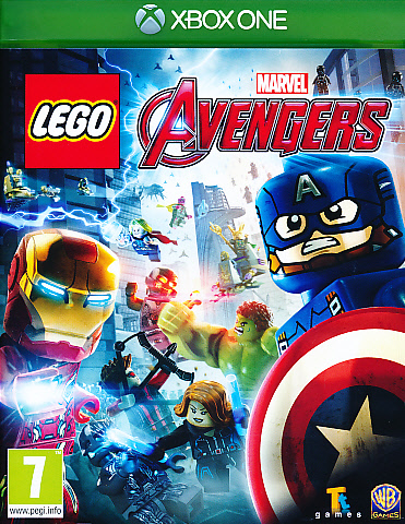 "Packshot for ""Lego Marvel Avengers XBO"""