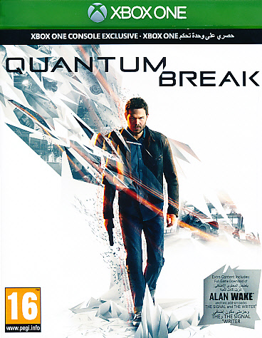 "Packshot for ""Quantum Break XBO"""