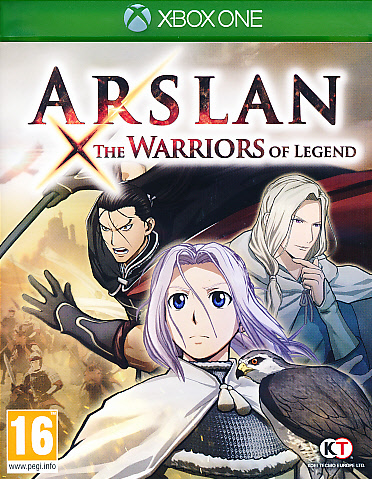 "Packshot for ""Arslan the Warriors of Legend XBO"""