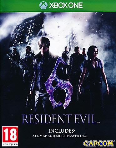 """Packshot for """"Resident Evil 6 HD XBO"""""""